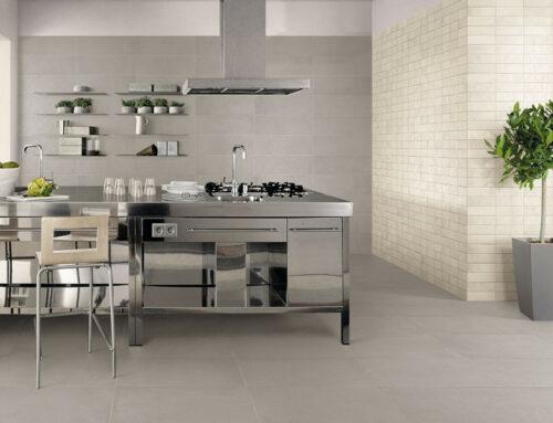 Pose carrelage dans une cuisine à Orgon